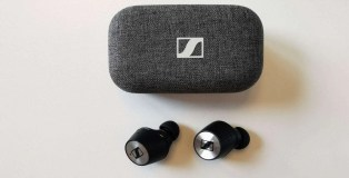 Sennheiser Momentum True Wireless 2 earbuds and case
