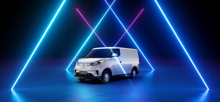 A milestone for MAXUS: Meet the all-new fully electric e DELIVER 3