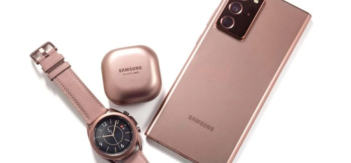 Samsung Announce Galaxy Note20 & Note20 Ultra, Galaxy Buds Live + More