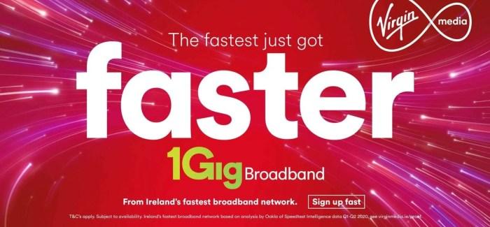 Virgin Media switches on 1 Gigabit Broadband network