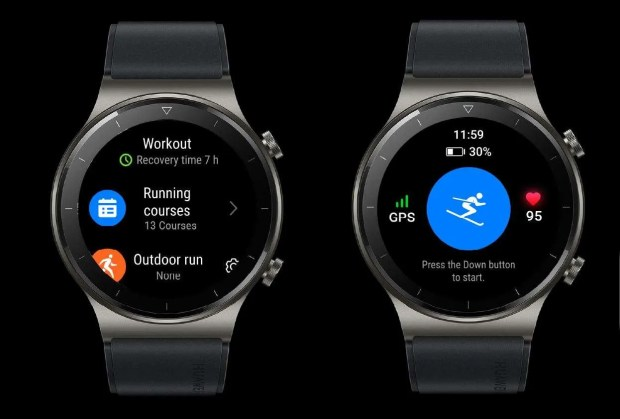 Huawei Watch GT2 Pro Skiing Mode