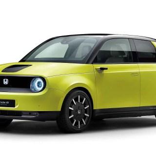 1st Look at the Honda e – A Tech Lovers Dream EV?