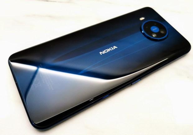 Nokia 8.3 5G rear