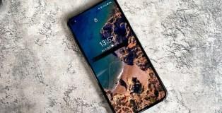Google Pixel 5 display