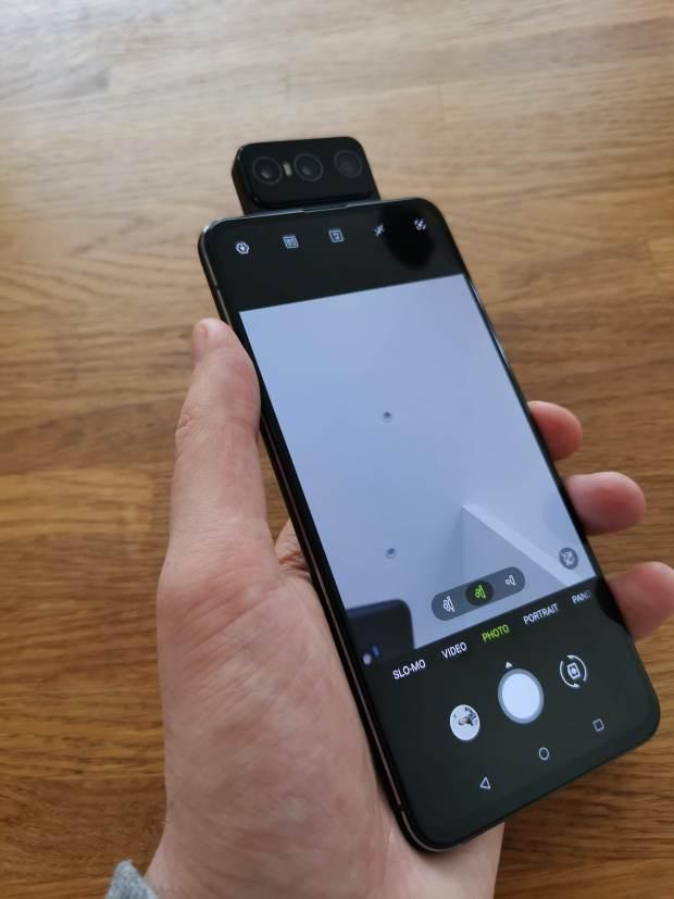Camera in Selfie Mode