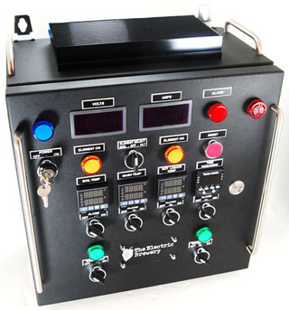 Electric Brewery Control Panel
