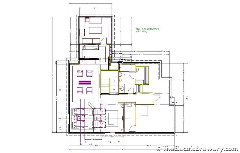 Kal's basement Home Theatre/Bar/Brewery build 2.0