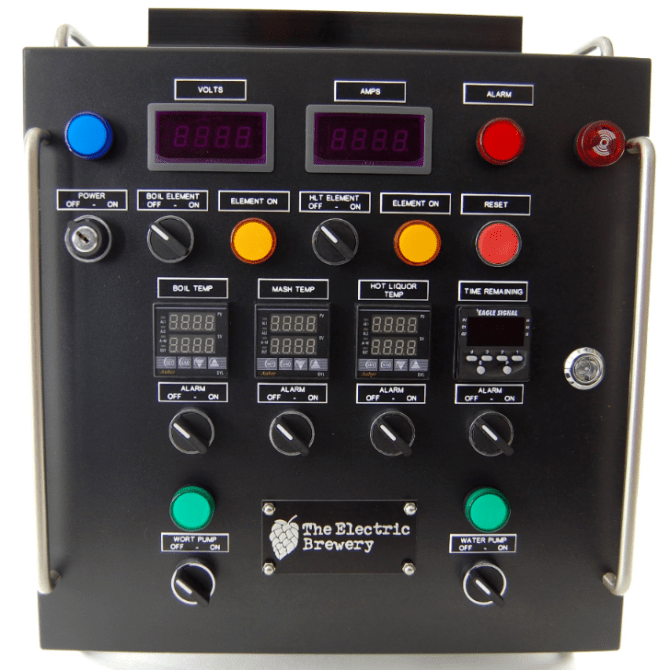 50a control panel back to back