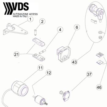 VDS PM1/SC Master Spare Parts