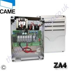Electric Garage Door Opener Wiring Diagram Mallory Distributor Came Za4 Control Board