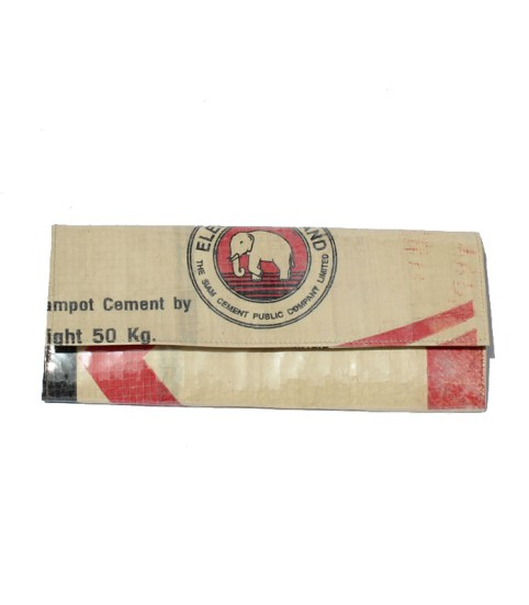 Elephant Brand Deluxe PVC Covered Extra Long Recycled Ladies Wallet 4