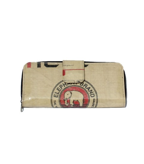 Elephant Brand Ladies Long Deluxe Fold out Wallet 4