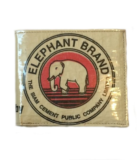 Elephant Brand Recycled Deluxe Mans Wallet Fair Trade 4