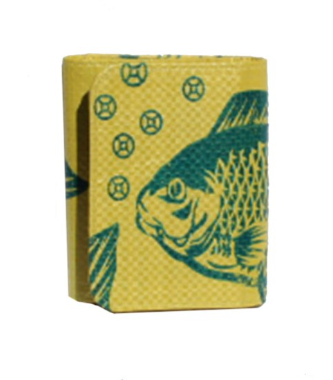 Recycled Fish Feed Ladies Short Wallet 9