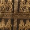 Apsara Dancer Bold Black Detail