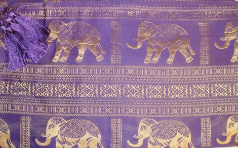 Elephant Purple Detail