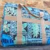 Hawaiian Travel Bags Blue Hibiscus 2