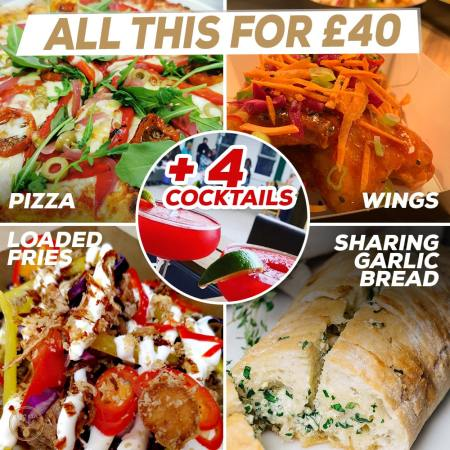 Meal Deal for £40