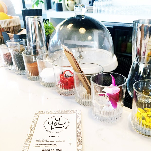 You & Yours Distilling bar
