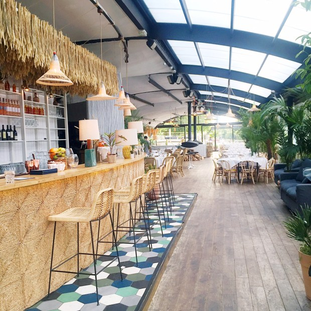 Boho Tropical Paris Inspiration at Polpo Brasserie | The ELL Blog