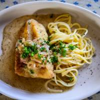 Cod with Shallots and Cream Sauce