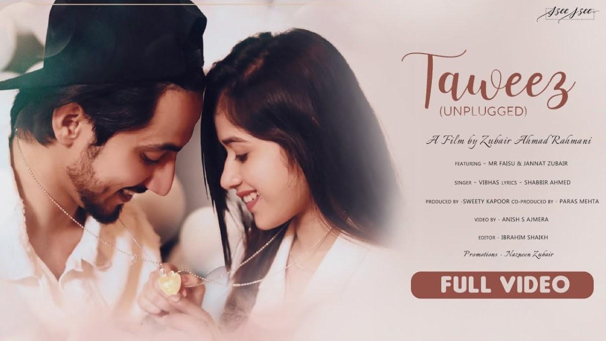 Taweez Unplugged Lyrics – Vibhas | Mr Faisu New Hindi Song