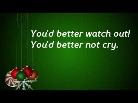 Santa Claus is Comin to Town Lyrics