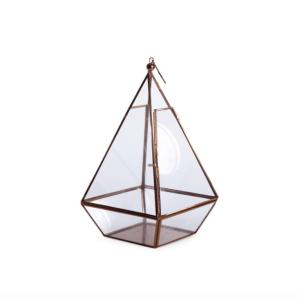 Large copper terrarium