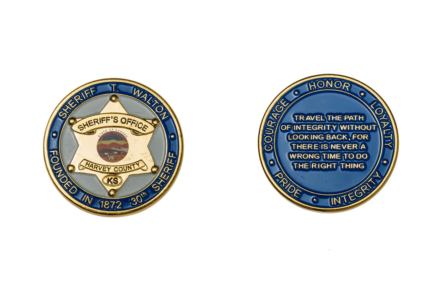 Leadership Challenge Coin Designs - Year of Clean Water