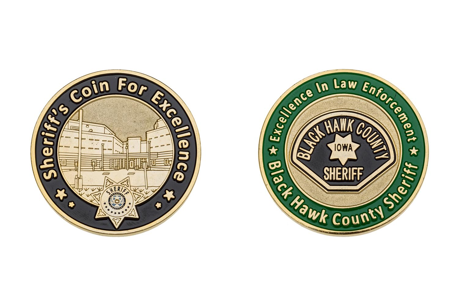 Police Challenge Coin Ideas - Year of Clean Water