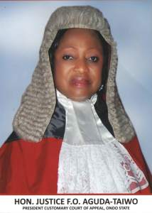 President Customary Court of Appeal Ondo State