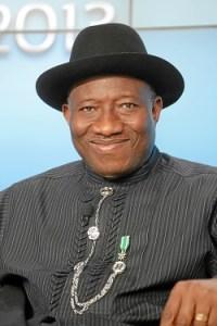 HE Goodluck Ebele Jonathan