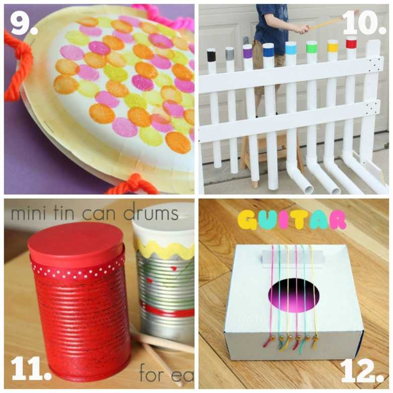 diy recycled play series #2 - musical fun! - the empowered educator