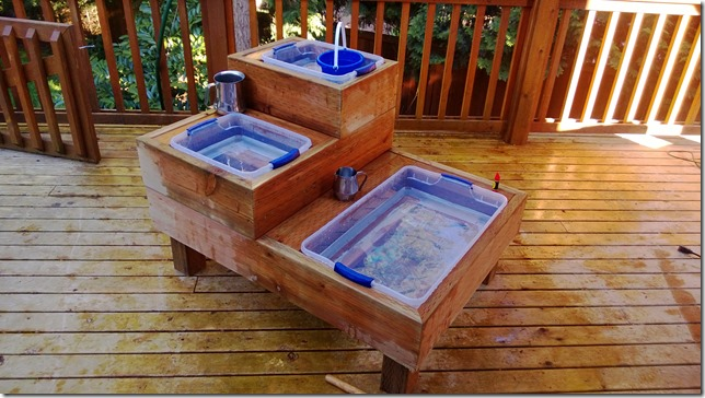 How To Build Your Own Water Amp Sand Sensory Table For Play