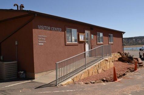 Escalante Petrified Forest State Park Visitors Center