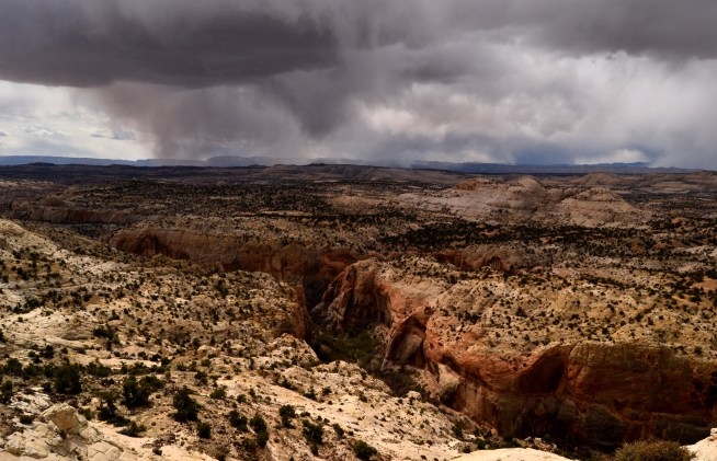 Storm Outside of Escalante