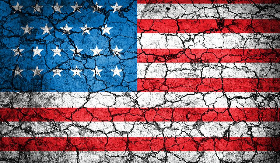 Divided America - The Fractured States of America