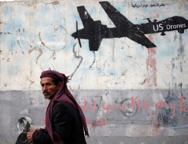 US drones and terrorism