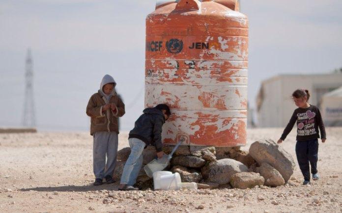 water crisis in Jordan
