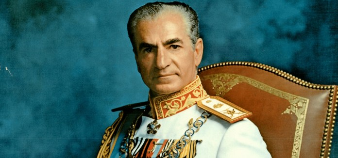 history of iran, the shah
