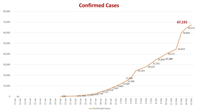 COVID-19 confirmed cases