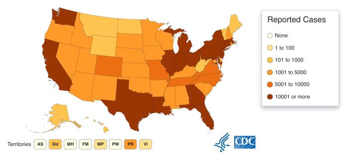 tracking coronavirus in the US