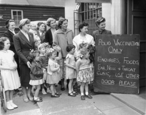 vaccinations polio timeline
