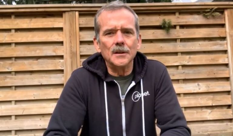 Who better to give advice on how to deal with self-isolation than Canadian astronaut Chris Hadfield? Take care of your spaceship!