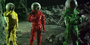 Moon Zero Two astronauts