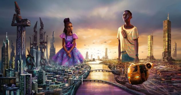 African scifi on Disney+