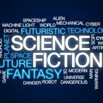scifi word cloud