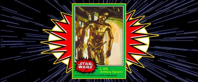 C-3PO's penis collector's card