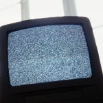 television snow