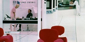 Space hotel from 2001: A Space Odyssey
